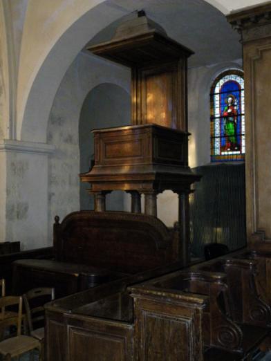 Andrezel - Esso porte de la chapelle ...